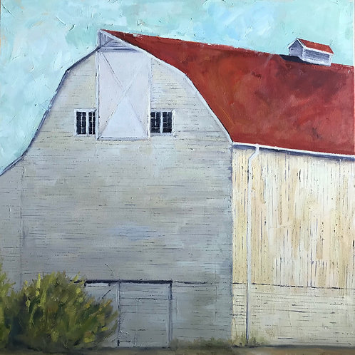 "Barn at Luscher Farm 24X24"" SOLD"