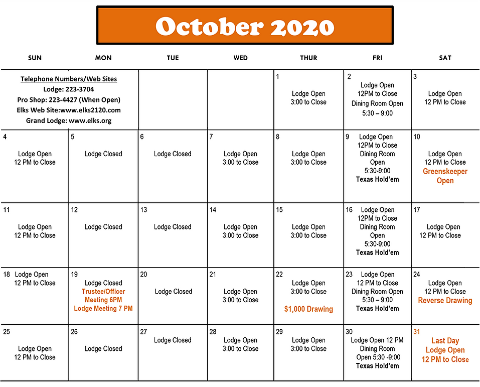 2020 Elks October Calendar.png