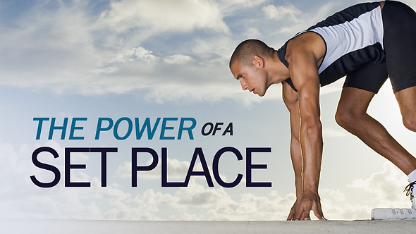 The Power Of A Set Place - 3 PT ( CD ) Series