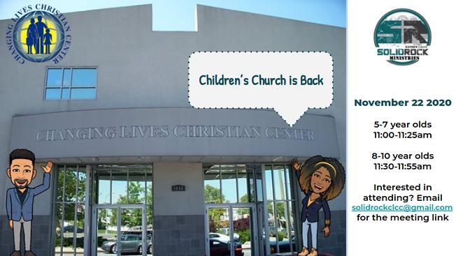 CLCC's Children's Church