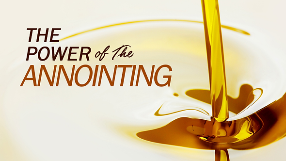 THE POWER OF THE ANOINTING - 2 PT ( MP3 ) SERIES