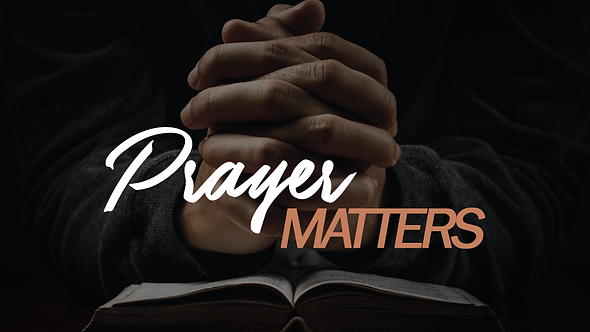Prayer Matters - 4 PT ( CD ) Series