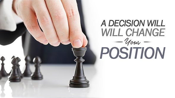 A Decision Will Change Your Position - 5 PT ( CD ) Series