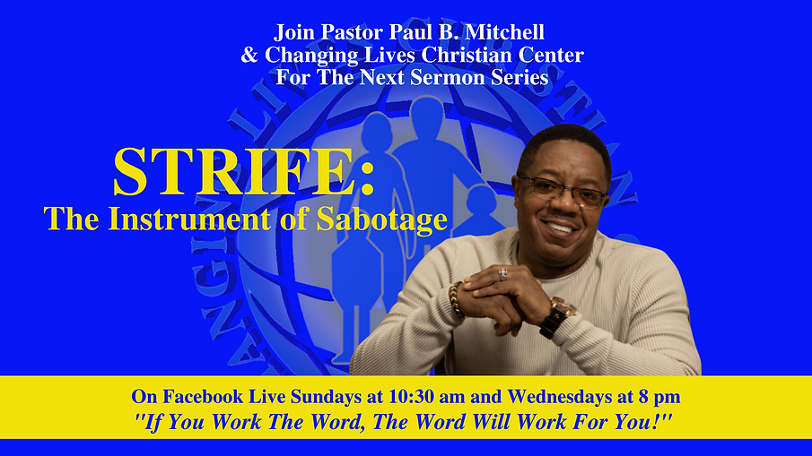 Sermon Flyer