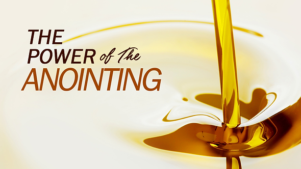 The Power Of The Anointing - 2 PT ( CD ) Series