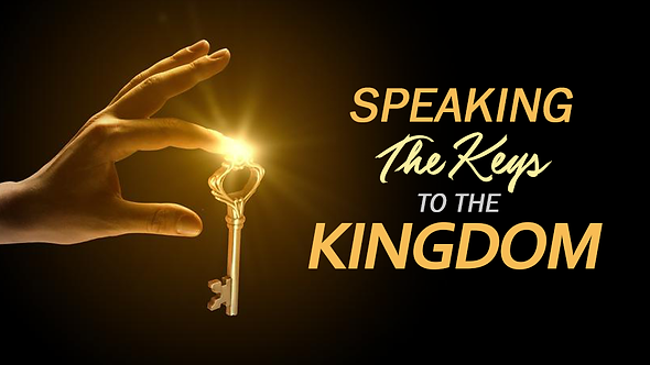 SPEAKING THE KEYS TO THE KINGDOM - 5 PT( MP3 ) SERIES
