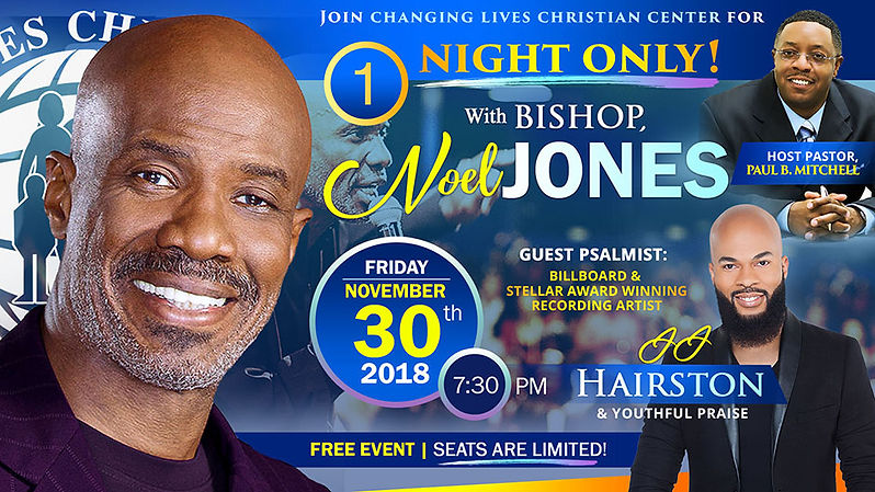 One Night Only_Bishop Noel Jones 2018_Fa