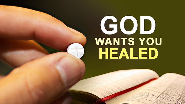 GOD WANTS YOU HEALED - 5 PT ( MP3 ) SERIES