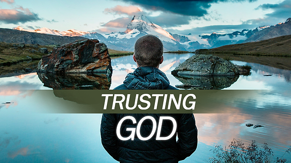 TRUSTING GOD - 2 PT ( MP3 ) SERIES