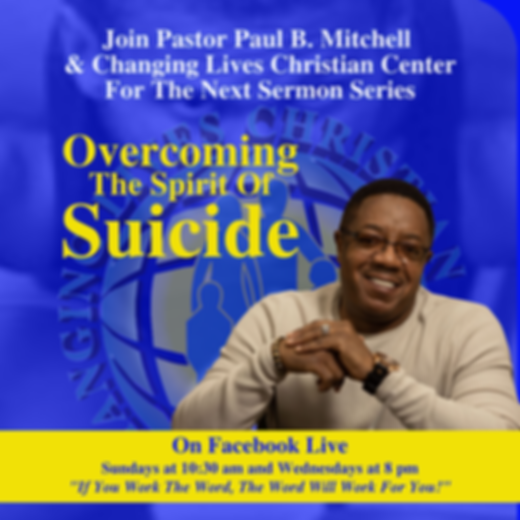 Sermon Flyer - Overcoming The Spirit of