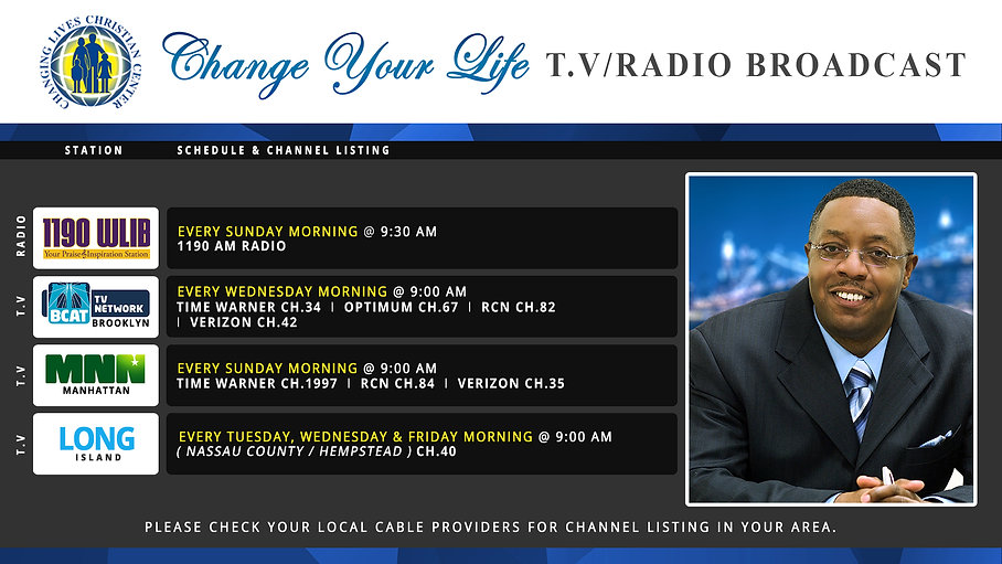 Change Your Life TV_Radio Broadcast Slid