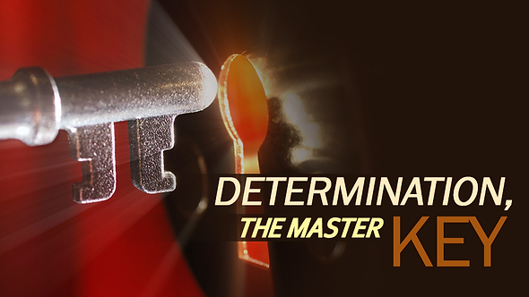 DETERMINATION, THE MASTER KEY ( MP3 )