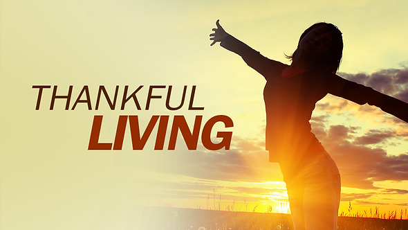 THANKFUL LIVING ( MP3 )