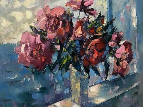 "Картина ""Свежий ветер"", 50 х 60 см, холст, масло"