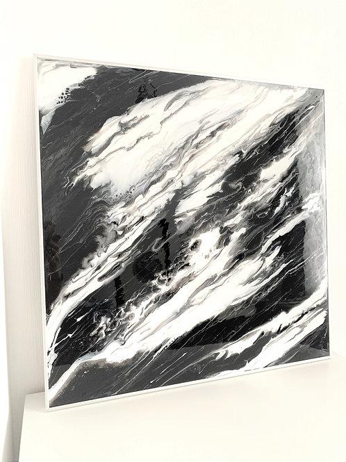 """Картина """"Художественный мрамор"""", 70,5 х 70,5 см, эпоксидная смола, два"""