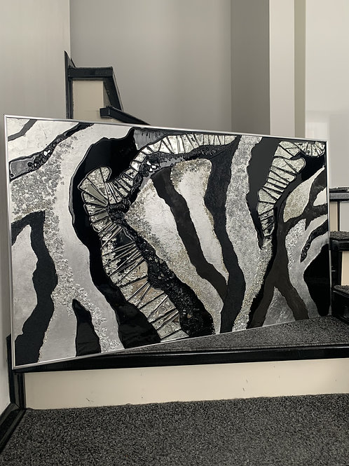 Картина «Ритм ночи», 100 х 60 см, акрил, смола