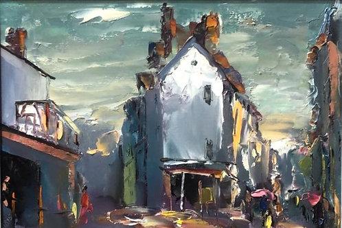 """Картина """"Руан"""", 35 х 50 см, холст, масло"""