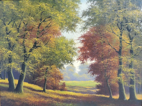 "Картина ""Осень"", холст, масло, 80 х 60"
