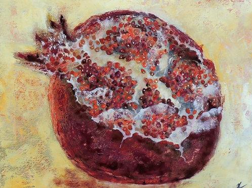 """Картина """"Гранат"""", 40 х 50 см, холст, масло"""