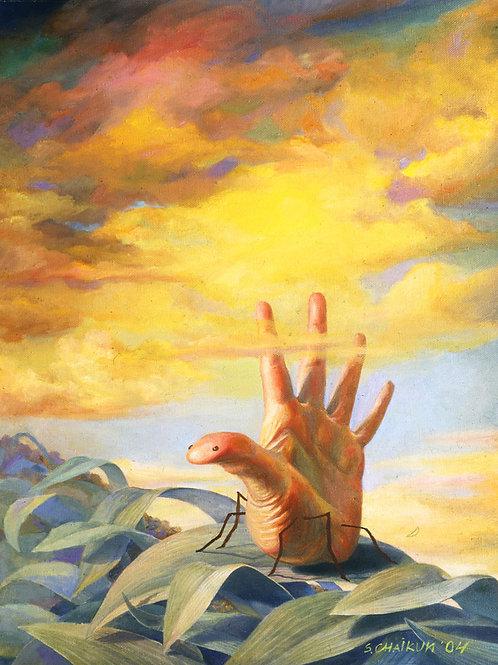 """Картина """"Под солнцем"""", 96 Х 74  см, холст, масло"""