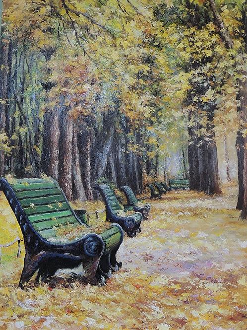 "Картина ""Осень"" 60 х 80 см. Холст, масло"