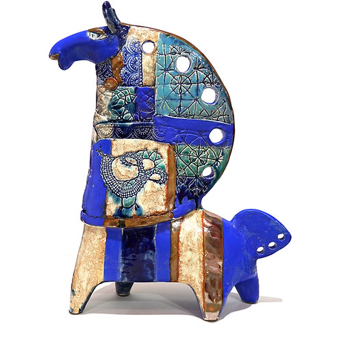 "Скульптура ""Конь"", 44 х 35 см., керамика"