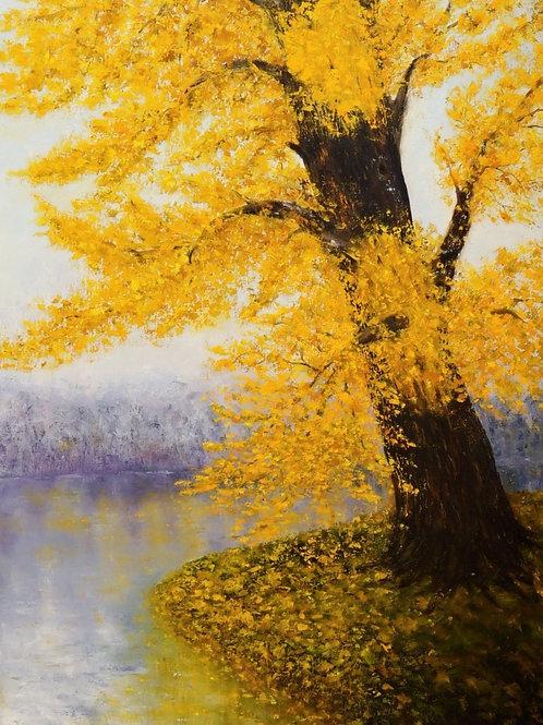 """Картина """"Дерево ожиданий"""", 80 х 60 см, холст, масло"""