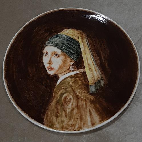 Тарелка, 35 см, керамика