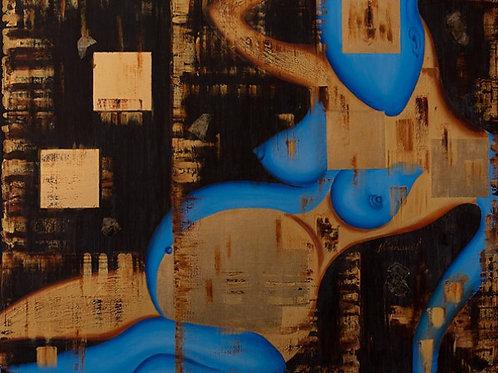 """Картина """"Откровение"""", 100 х 120 см, холст, масло"""