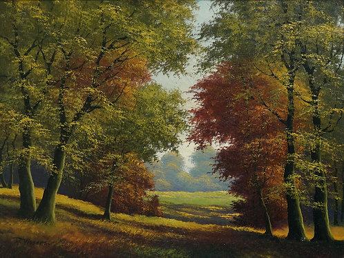 """Картина """"Осень"""", холст, масло"""