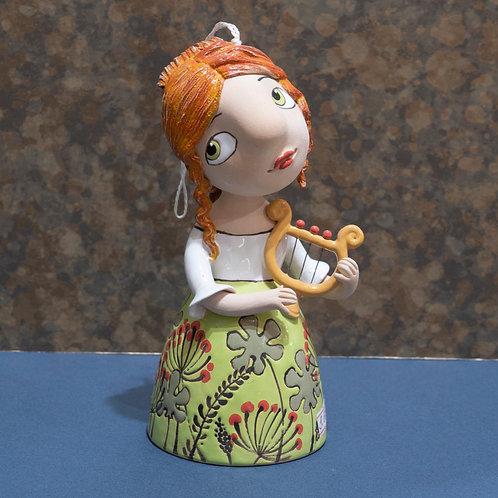 Колокольчик, 19 см, керамика