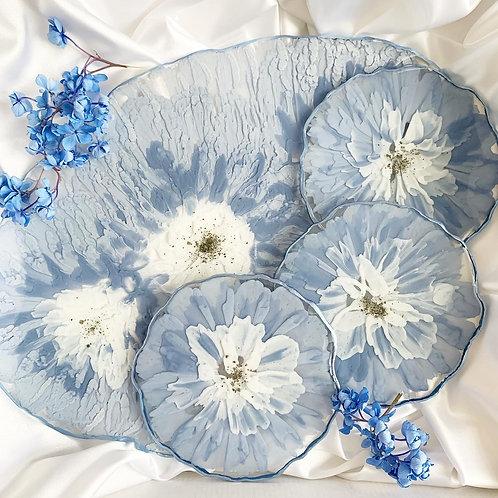 Набор «Голубые цветы»