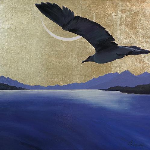 """Картина """"Альбатрос"""", 56 х 60 см., холст, масло"""