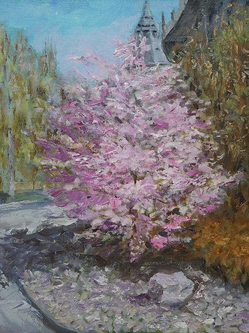 """Картина """"Весна в Стокгольме"""", 50х40, холст, масло"""