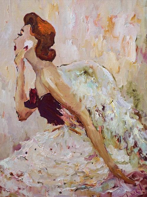 """Картина """"Французское утро"""", 40 х 50 см, холст, масло"""
