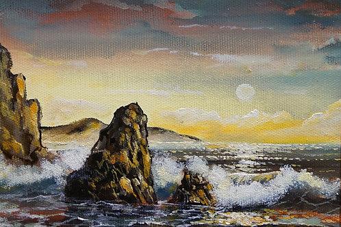 """Картина """"Море"""", 15х20, холст, масло"""