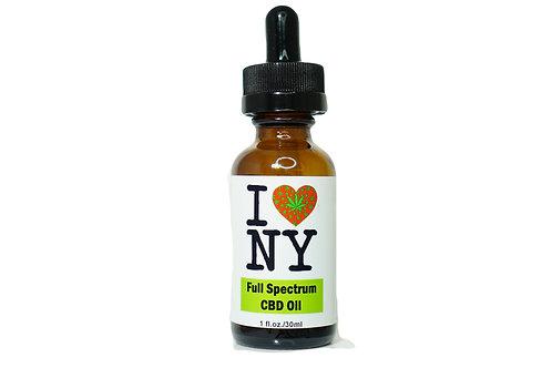 I Heart NY Hemp Full Spectrum CBD Tincture