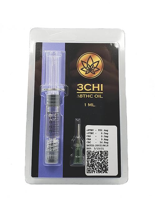 Delta 8 THC Distillate Syringe 1g- 3Chi