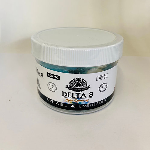 500mg Delta 8 Gummies- Illuminati