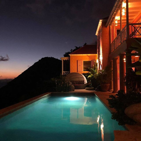 Our beautiful home provides gorgeous vie