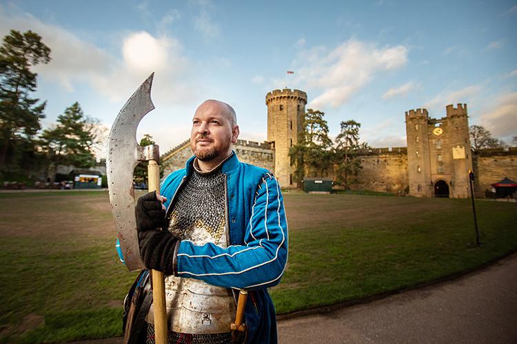Warwick Castle Knight