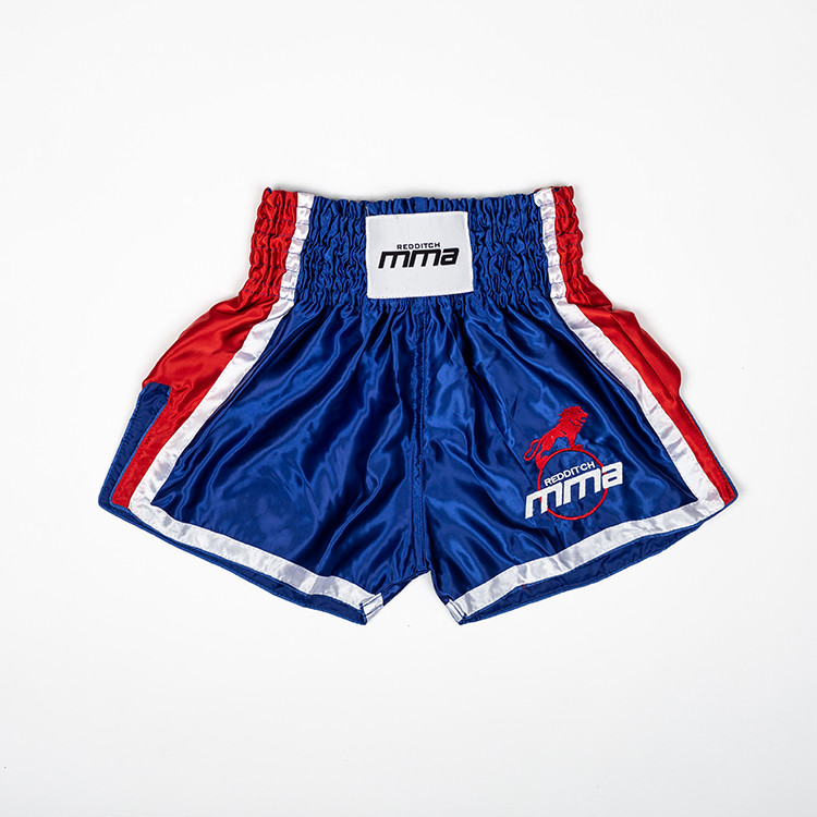 Flat Lay Thai Boxing Shorts