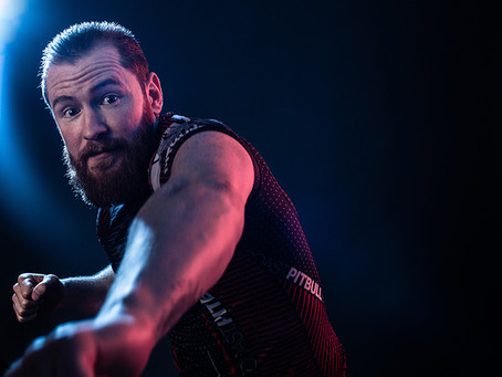 MMA Professional Portrait