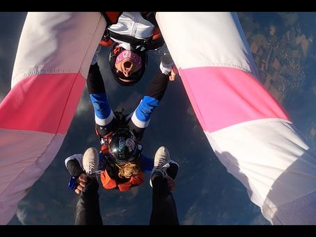Reprise de l'activité parachutiste