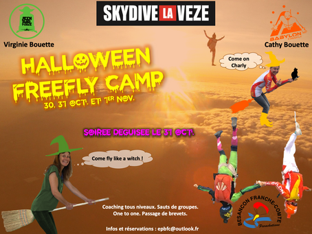 Halloween freefly camp 🎃