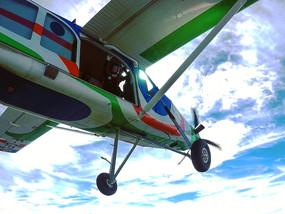 Sortie d'avion