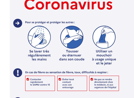 Coronavirus - Centre fermé