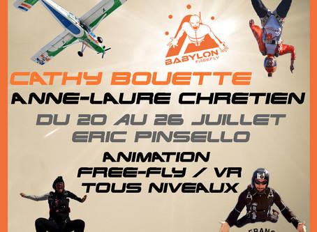 Animation Freefly et VR du 20 au 26 juillet
