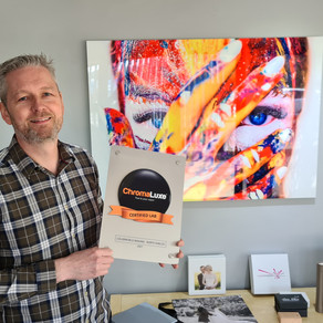 Colorworld Imaging is now a ChromaLuxe Certified Lab*