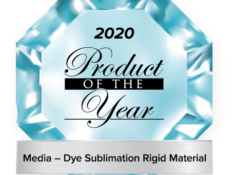 ChromaLuxe Textured Metal Prints hold the 2020 Product of the Year Award